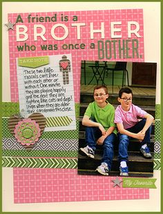 Laina Lamb ~ A Friend is a Brother