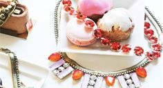 Dazzle your guests Panna Cotta, Eye Candy, Cheesecake, Ethnic Recipes, Desserts, Food, Bling, Weddings, Tailgate Desserts