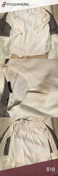 Korea Chocolate brand long sleeve tunic size XS/S White long sleeve tunic from Korea, Chocolate Brand Chocolate  Tops Tunics