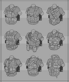 Redshirt : Tactical Vest by Prospass.deviantart.com on @deviantART