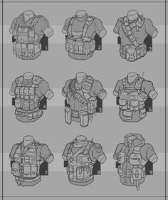 Redshirt : Tactical Vest by Prospass.deviantart.com on @deviantART