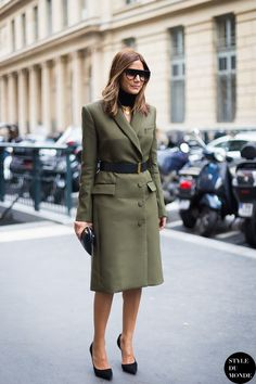Come abbinare il verde militare: idee look verde militare dalla mattina alla sera!