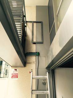 Avda de Manonteras, Madrid. Instalacion de equipos