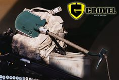 The Crovel - Crowbar, Axe and Shovel in one ultimate Survival Tool