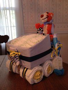 hockey baby diapercake - Google Search