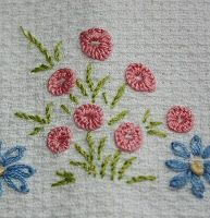 Tina's handicraft : 53 different embroidery techniques