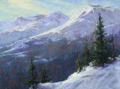 Headin' Into Hope Valley by Kim Lordier Pastel ~ 18 x 24