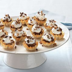 Looking for a quick dessert that's ideal for a weeknight potluck or party? These petite tarts are the answer. With just the right amount...