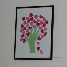 Valentine Tree Fine Motor version - with tracing and cutting - repinned by @PediaStaff – Please Visit ht.ly/63sNtfor all our pediatric therapy pins