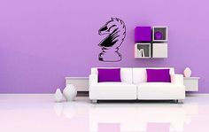wall vinyl sticker room #decals mural design art chess piece game #horse  #bo178,  View more on the LINK: 	http://www.zeppy.io/product/gb/2/171838678783/