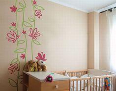 Креативные идеи для ремонта квартиры - стены с рисунками