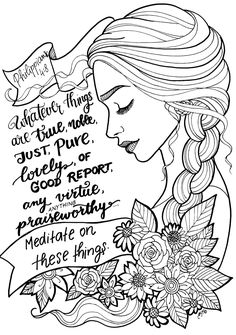"Free Coloring Page! Beautifully Illustrated Bible Verse ""i on NEO Coloring Pages 8222 Bible Drawing, Bible Doodling, Bible Verse Coloring Page, Coloring Book Pages, Scripture Art, Bible Art, Journaling, Free Adult Coloring, Bible Crafts"