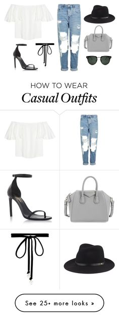 """""""casual."""" by lilystypayhorlikson on Polyvore featuring Topshop, Valentino, Yves Saint Laurent, Joomi Lim, Spitfire, rag & bone and Givenchy"""