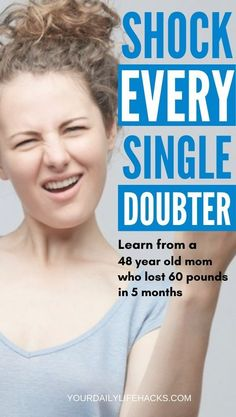 Weight Loss Tip From 48 Year Old Mom Who Lost 60 Pounds in 5 Months - Your Daily Life Hacks Quick Weight Loss Diet, Easy Weight Loss Tips, Weight Loss Program, Help Me Lose Weight, Diet Plans To Lose Weight, Lose 50 Pounds, Best Diets, Lose Belly Fat, Weight Loss Motivation