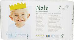 NATY NATURE BABYCARE Mini 3-6 kg (34 ks) - jednorázové plienky