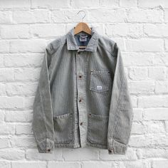 Edwin Road Jacket - Hickory Stripe | FUSShop