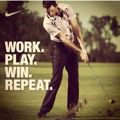 Great quote for golfers! #Golf #quotes #TGIF