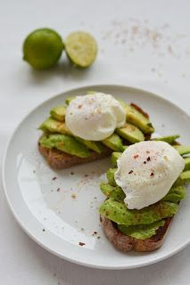 Avocado and Poached Egg Brunch Toast | All Recipes Food