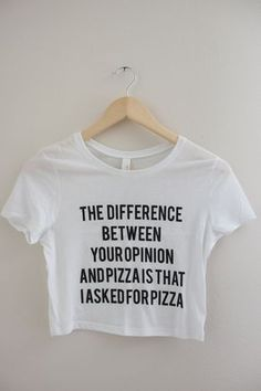 DIY Workout Shirt Rabbit Food For My Bunny Teeth - Funny Shirts Humor - Ideas of Funny Shirts Humor - Your Opinion or Pizza Graphic Crop Top Olivia Rose Inc Cropped Tops, Cute Shirts, Funny Shirts, Girl Shirts, Camisa Vintage, All Meme, Diy Vetement, Trend Fashion, Outfit Trends