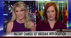 Megyn Kelly Grills State Department Spokeswoman: Was Bergdahl Trade Worth It?  Read more: http://www.thepoliticalinsider.com/megyn-kelly-grills-state-department-spokeswoman-bergdahl-trade-worth/#ixzz3W07yx6tG  - The Political Insider
