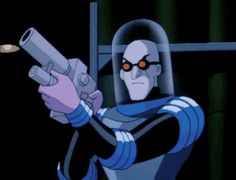"""Mr. Freeze vs Batman in """"Heart of Ice"""" from Batman the Animated Series"""