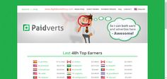 What Is Paidvert Paidverts is an unique paid-to-click service that is completely different from other PTC sites, and it pays really high amount of cash ads to its users.