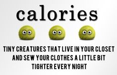Calories are.....