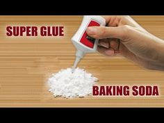 Brilliant Ideas With Baking Soda and Super Glue Best Super Glue, Home Made Glue, Diy Home Repair, Glue Crafts, Useful Life Hacks, Hacks Diy, Cool Diy Projects, Old Tools, Baking Soda