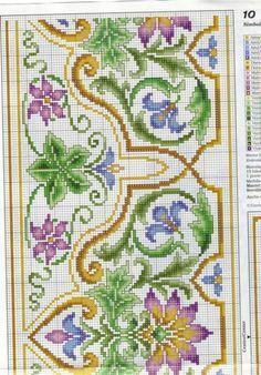 Stylized floral dense design g