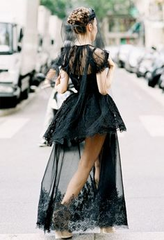 15 Of The Most Glamorous Street Style Photos Ever via @Alexandra M What Wear