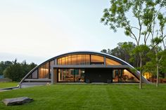 ARC House by Maziar Behrooz. Check out the applewood cabinets in the kitchen! Amazing design