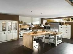 Looking for some modern kitchens to adapt yours ? Let's see the 45 Modern Kitchen Room Design for 2015 ! Small Space Kitchen, Kitchen Room Design, Modern Kitchen Design, Dining Room Design, Kitchen Interior, Kitchen Ideas, Kitchen Designs, Kitchen Images, Kitchen Trends