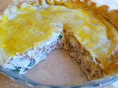 SPLENDID LOW-CARBING BY JENNIFER ELOFF: CHEESY TUNA PIE