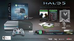 Resultado de imagem para xbox one limited edition halo 5 guardians bundle