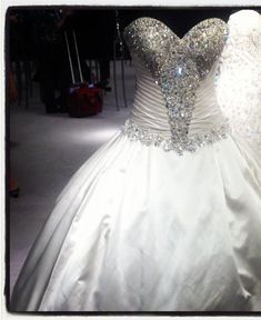 bling wedding dresses - Google Search