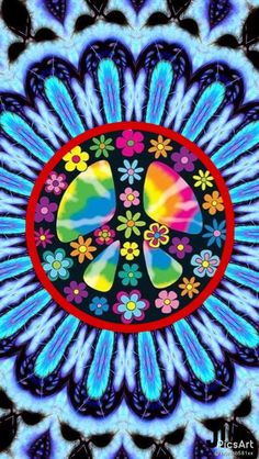 Hippie Peace, Happy Hippie, Hippie Love, Hippie Art, Yoga Studio Design, Peace Love Happiness, Peace And Love, Wallpaper Backgrounds, Iphone Wallpaper