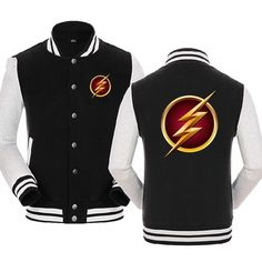The Flash Logo Cool Baseball Shirts