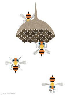 Bees | by Ryo Takemasa