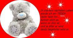 Teddy ist ganz traurig  :-(  oh