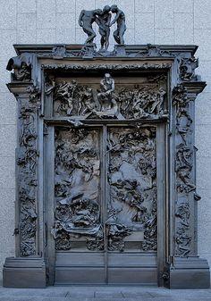 Find this Pin and more on Doors  Windows and Gates. & Paris - Musée Rodin: La Porte de l\u0027Enfer   Musée Rodin   Pinterest ...