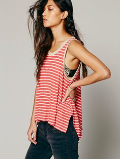 Free People We The Free Strike Out Tank, $48.00