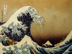 La Ola de Katsushika Hokusai (1760-1849)