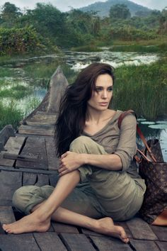 """repvlsed: """" """" Angelina Jolie by Louis Vuitton """" Oh my god """""""