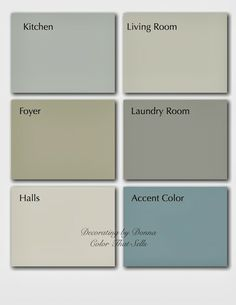 Decorating by Donna - Community - Google+ talks about color palettes for your home.