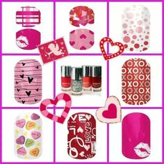 Great Valentine's Day styles now available! www.afox.jamberrynails.net