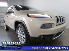 eBay: 2014 Jeep Cherokee Limited 2014 Jeep Cherokee Limited 27327 Miles Cashmere Pearlcoat 4D Sport Utility 2.4L #jeep #jeeplife