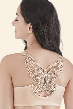 d45ece071 Handmade Butterfly Embroidery Front Closure Wireless Bra – surrealunicorn