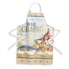 Blue Crabs Apron