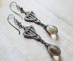 A Victorian Hallowe'en 2013  Antique Silver and by SihayaDesigns, $26.00