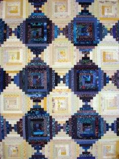Quilt Gallery - BertrandLand Quilts-Jewelry-Gifts alternating log cabin